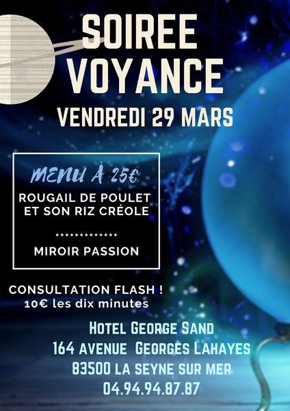 Soirée voyance au George Sand à La Seyne-sur-Mer - 0