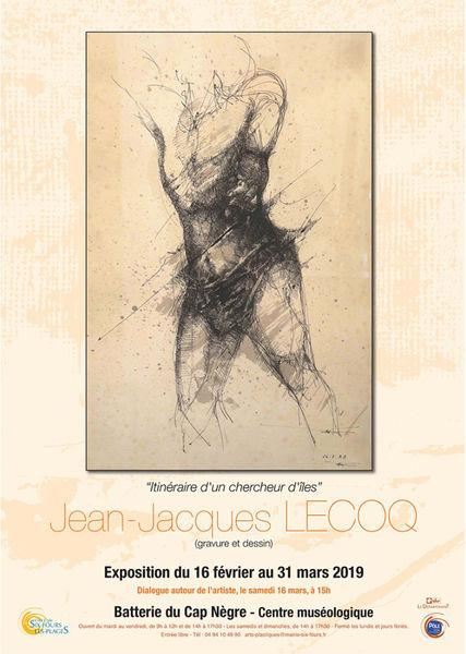 Exposition «Itinéraire d'un chercheur d'îles» de Jean-Jacques Lecoq (gravure et dessin) à Six-Fours-les-Plages - 0