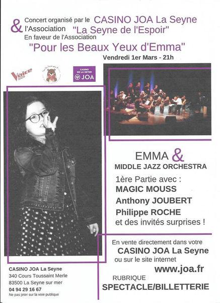 Concert d'Emma & le Middle Jazz Orchestra à La Seyne-sur-Mer - 0