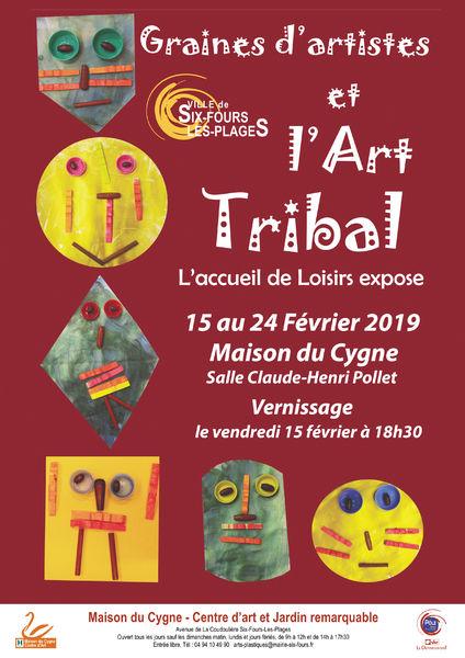 Exposition : Graines d'artistes et l'art tribal à Six-Fours-les-Plages - 0