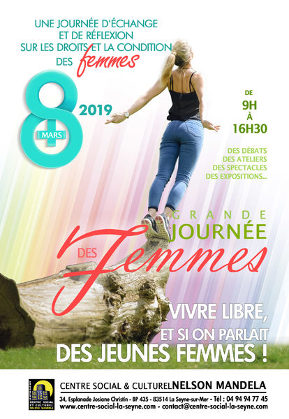Grande journée des Femmes autour du thème des «jeunes femmes» à La Seyne-sur-Mer - 0