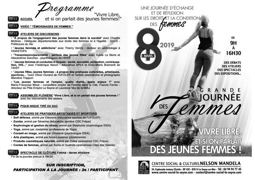 Grande journée des Femmes autour du thème des «jeunes femmes» à La Seyne-sur-Mer - 1