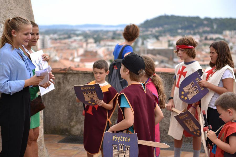 A la recherche du Trésor des Templiers (visite guidée spécial enfants) à Hyères - 4