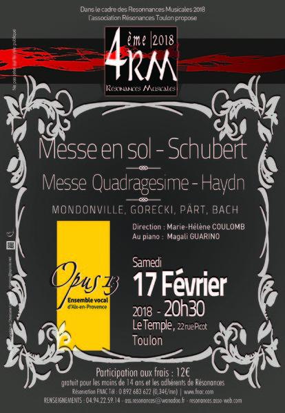 Résonances musicales et Opus 13 à Toulon - 0