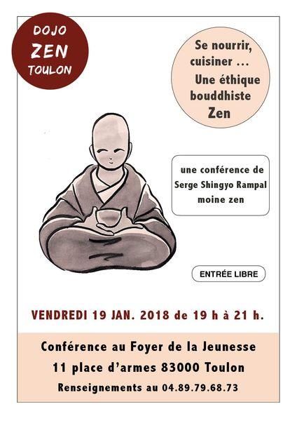 Se nourrir, cuisiner… Une éthique bouddhiste Zen à Toulon - 0