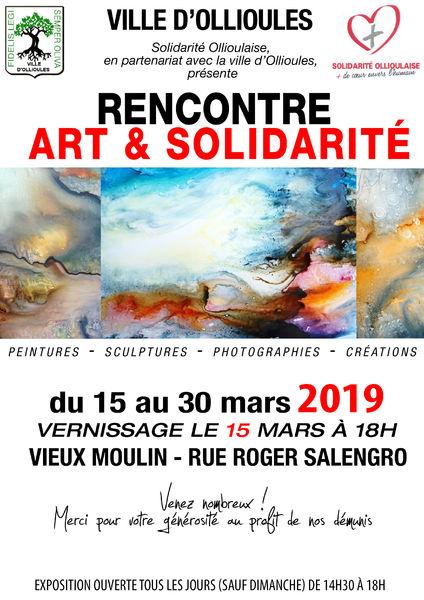 20e exposition Art et Solidarité à Ollioules - 0