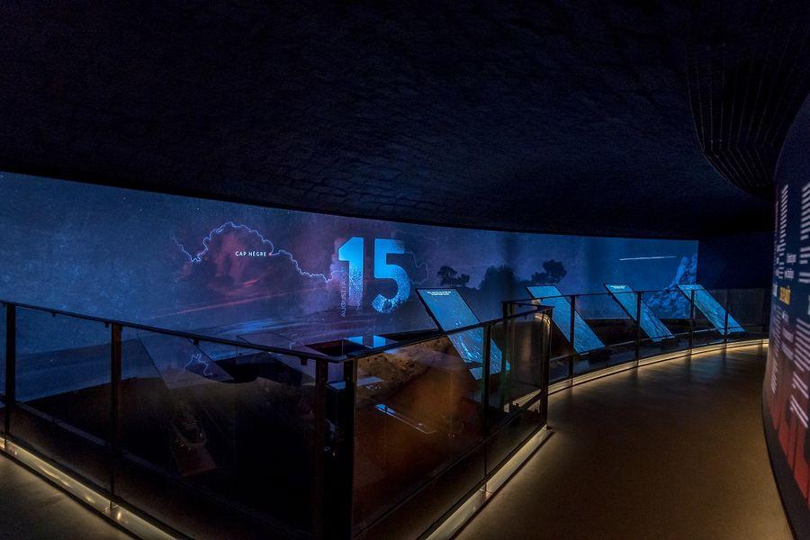 Visite du Mémorial du Débarquement et de la Libération de Provence à Toulon - 1