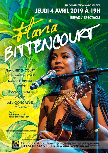 Repas spectacle de Flavia Bittencourt à La Seyne-sur-Mer - 0