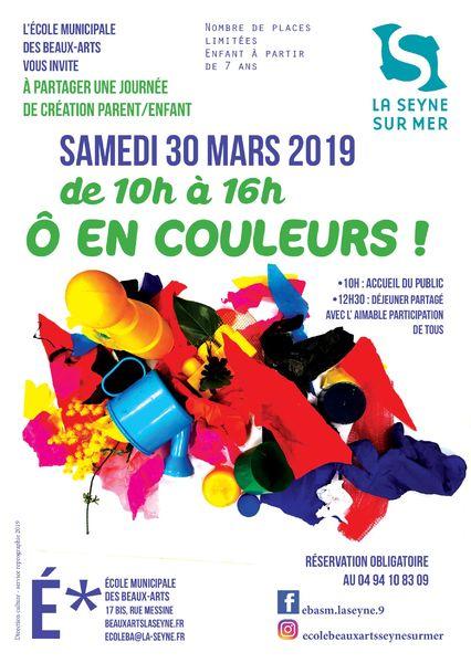 Journée de création partagée «Ô en couleurs» à La Seyne-sur-Mer - 0