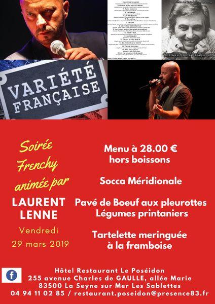 Soirée frenchy animée par Laurent Lenne à La Seyne-sur-Mer - 0