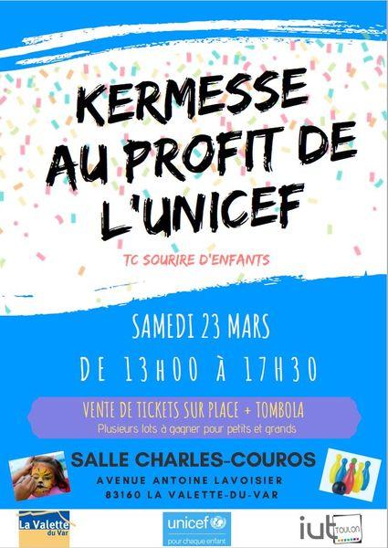 Kermesse au profit de l'UNICEF à La Valette-du-Var - 0