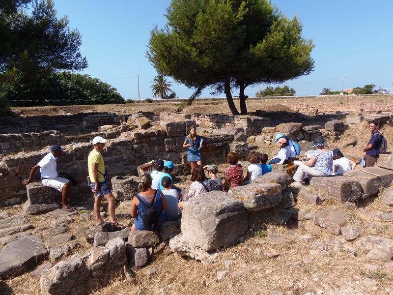 Visites du site archéologique d'Olbia à Hyères - 1