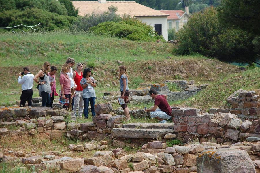 Visites du site archéologique d'Olbia à Hyères - 2