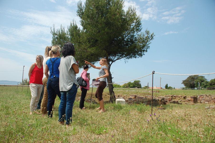 Visites du site archéologique d'Olbia à Hyères - 3