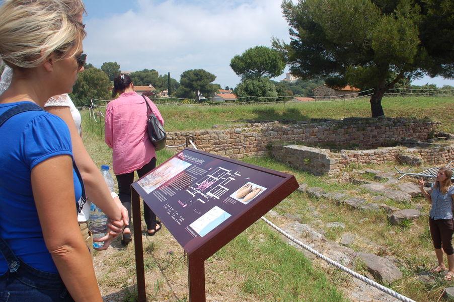 Visites du site archéologique d'Olbia à Hyères - 10
