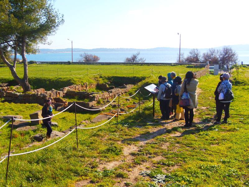 Visites du site archéologique d'Olbia à Hyères - 9