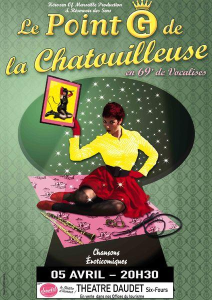 One woman musical «Le point G de la chatouilleuse» de Laetitia Planté à Six-Fours-les-Plages - 0