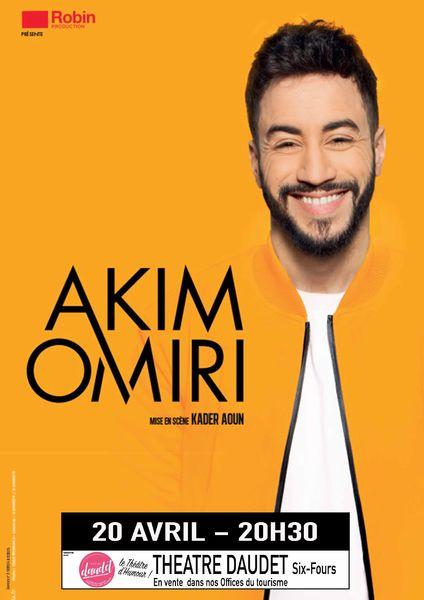 One man show de Akim Omiri à Six-Fours-les-Plages - 0