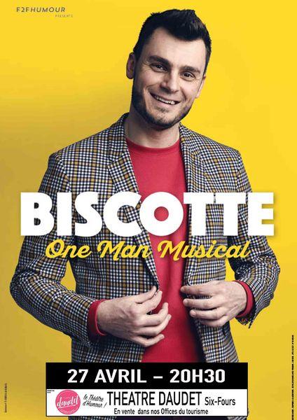 One man musical de Biscotte à Six-Fours-les-Plages - 0