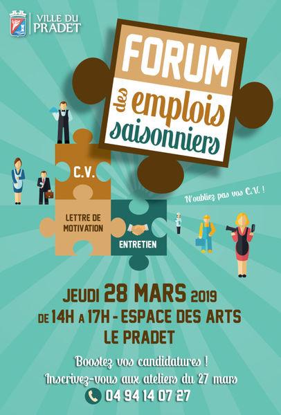 Forum des emplois saisonniers à Le Pradet - 0