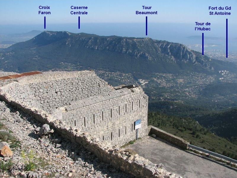 Randonnée Découverte du Faron et de ses forts à Toulon - 0