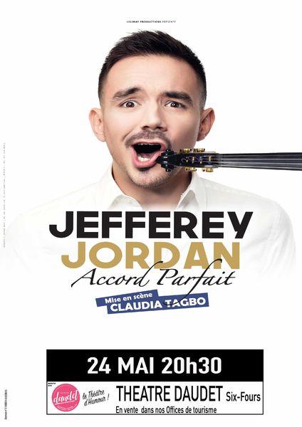 One man show «Accord parfait» de Jefferey Jordan à Six-Fours-les-Plages - 0