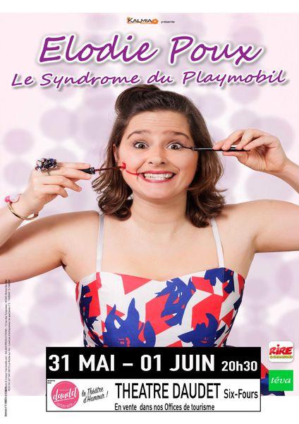 One man show «Le syndrome du playmobil» de Elodie Poux à Six-Fours-les-Plages - 0