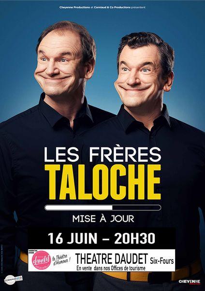 One man show «Mise à jour» des Frères Taloche à Six-Fours-les-Plages - 0