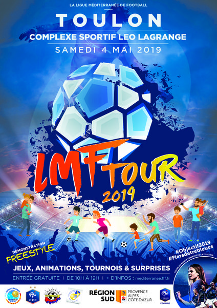 Football – LMF Tour 2019 à Toulon - 0