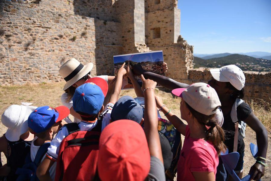 Enquête au château (visite guidée spécial enfants) à Hyères - 1