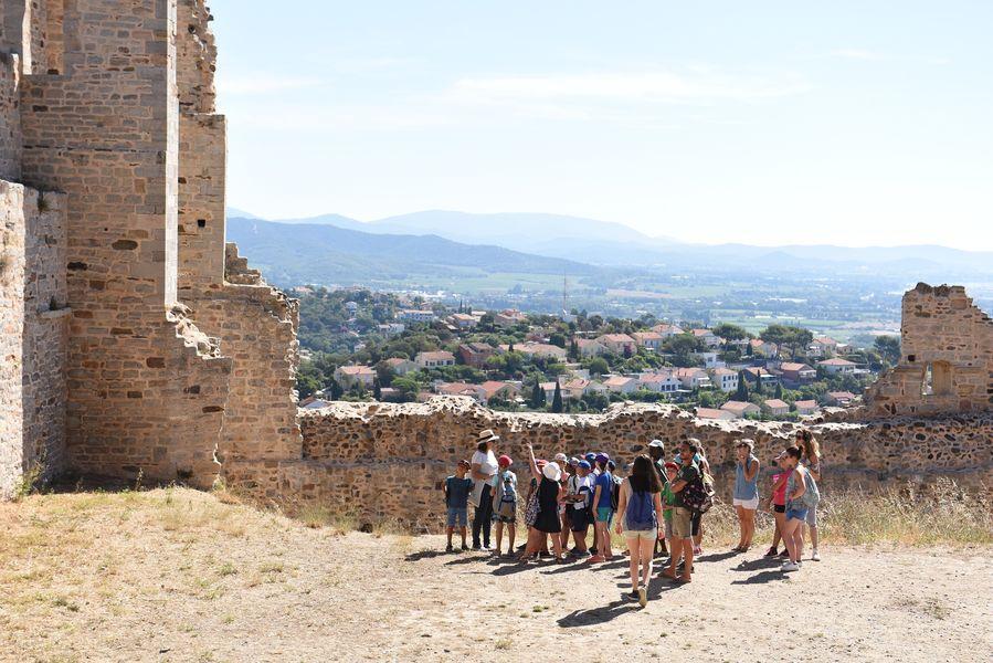 Enquête au château (visite guidée spécial enfants) à Hyères - 9