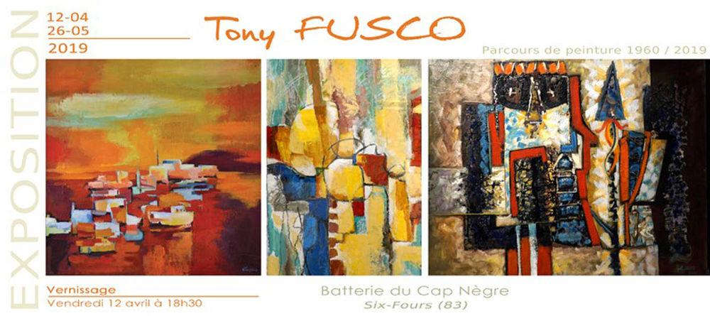 Exposition «Parcours de peintre 1960-2019» de Tony Fusco à Six-Fours-les-Plages - 0