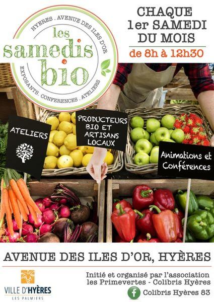Les Samedis bio à Hyères - 2