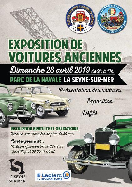 Rassemblement de voitures anciennes à La Seyne-sur-Mer - 0