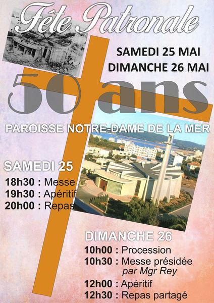 Fête Patronale 50 ans Notre Dame de la Mer à La Seyne-sur-Mer - 0