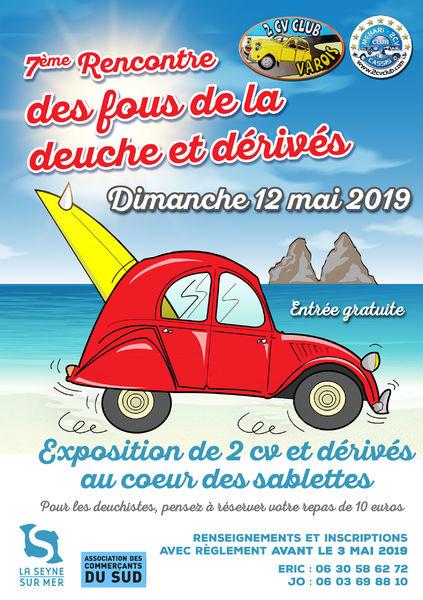 7è rencontre des fous de la deuche et dérivés à La Seyne-sur-Mer - 0