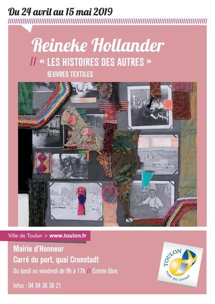 Exposition – Reineke Hollander « Les histoires des autres » à Toulon - 0