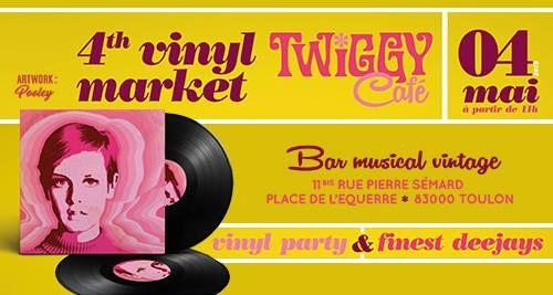 4th Vinyl Twiggy Market à Toulon - 0