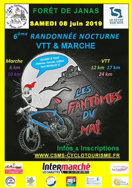 6e randonnée VTT nocturne : Les Fantômes du Mai à La Seyne-sur-Mer - 0