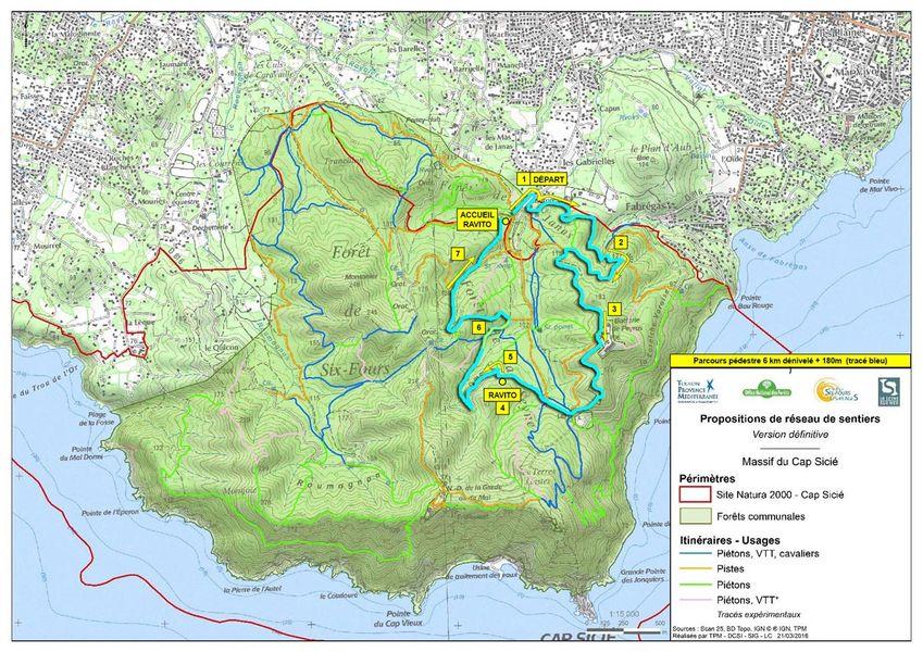 6e randonnée VTT nocturne : Les Fantômes du Mai à La Seyne-sur-Mer - 1