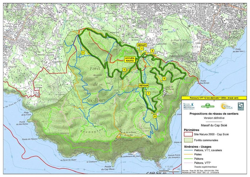 6e randonnée VTT nocturne : Les Fantômes du Mai à La Seyne-sur-Mer - 3