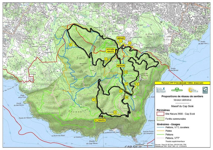 6e randonnée VTT nocturne : Les Fantômes du Mai à La Seyne-sur-Mer - 4
