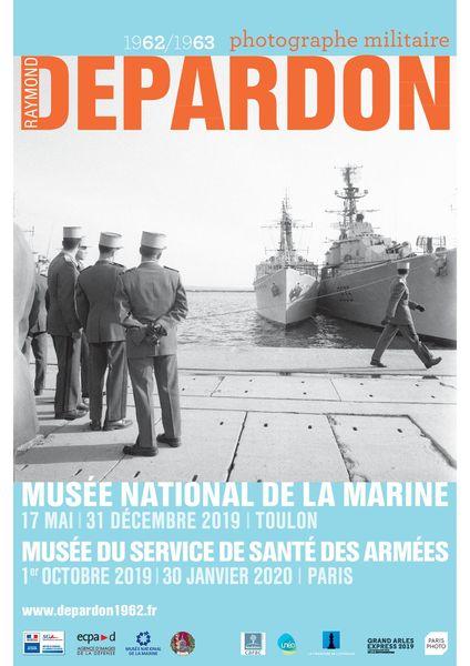 Exposition – Raymond Depardon : 1962-1963, photographe militaire à Toulon - 0
