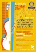 Agenda concert au profit du Rotary La Seyne Cap Sicié au casino Joa La Seyne