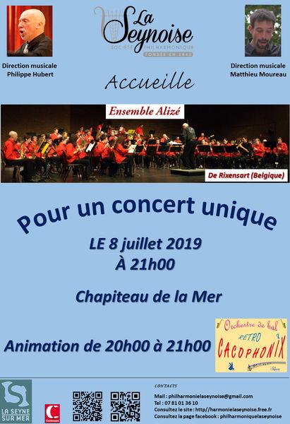 Concert de l'ensemble Alizé (Belgique) à La Seyne-sur-Mer - 0
