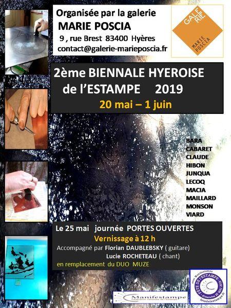 Exposition: Ghislaine Blanche Seguin à Hyères - 0