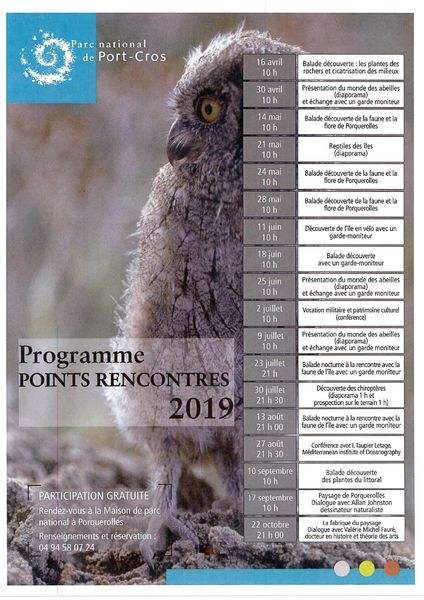 Point Rencontre Porquerolles 2019 à Hyères - 0