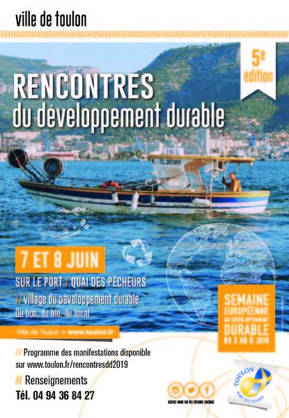 5èmes Rencontres du Développement Durable à Toulon - 0
