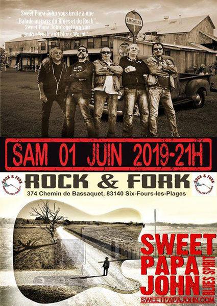 Sweet Papa John au Rock and Fork à Six-Fours-les-Plages - 0