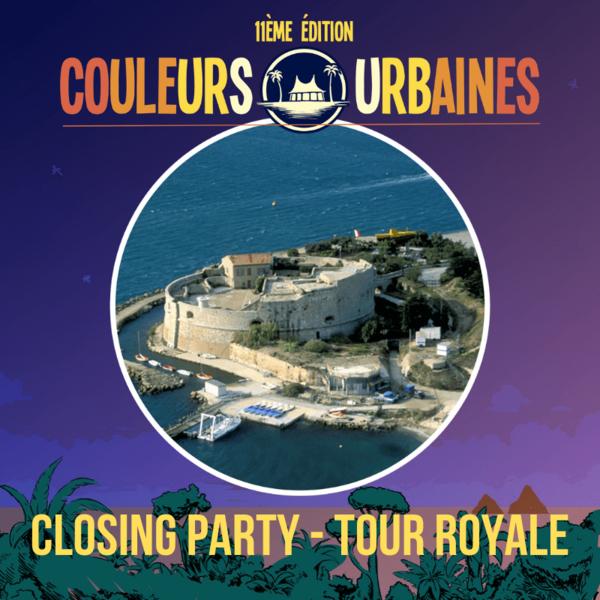 Concerts – Brunch electronique – Clôture Festival Couleurs Urbaines #11 à Toulon - 0
